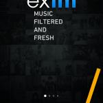 邦楽も洋楽もストリーミングで聴き放題のiPhone無料アプリ「exfm」でBGMはバッチリ!